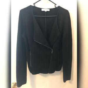 Loft Black Knit Cardigan